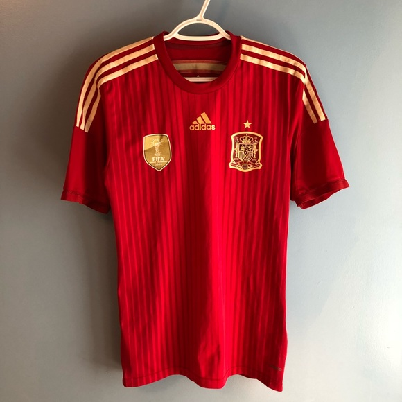 Spain s 2010 FIFA World Cup Champion Jersey 7119e555b